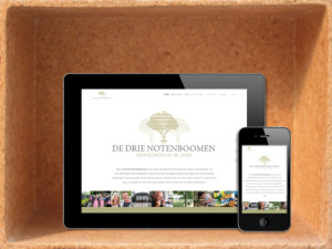 Website De Drie Notenboomen
