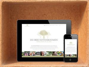 Website De Drie Notenboomen