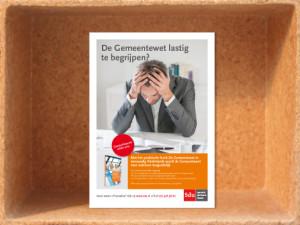 Advertentie 'De Gemeentewet in eenvoudig Nederlands'